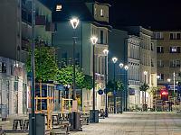 Modernizacja oświetlenia miejskiego w Szczecinku w kierunku jego energooszczędności, fot. Marcin Wilk