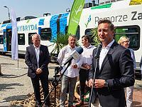 Uroczysty, premierowy przejazd w Kołobrzegu