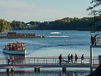 Rozwój szczecineckiego produktu turystycznego poprzez budowę wielofunkcyjnego pomostu stałego na jeziorze Trzesiecko, fot. Marcin Wilk