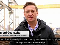 Pomorze Zachodnie wspiera innowacje w przemyśle stoczniowym