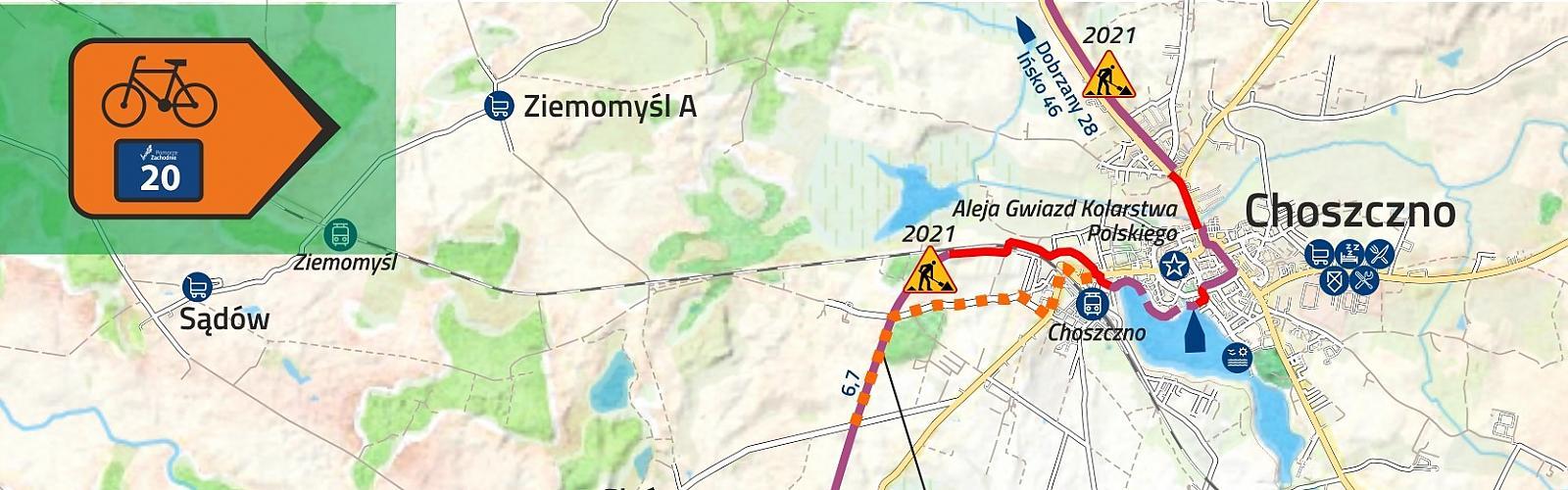 Rozpoczyna się budowa trzech odcinków Trasy Pojezierzy Zachodnich