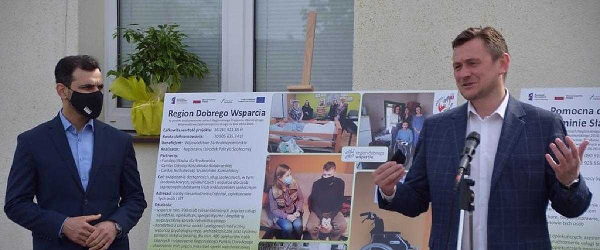 Usługi społeczne zmieniają gminę Sławno