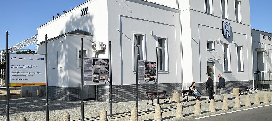 Społeczna rewitalizacja dworca PKP w Choszcznie. Fot. Urząd Miejski w Choszcznie