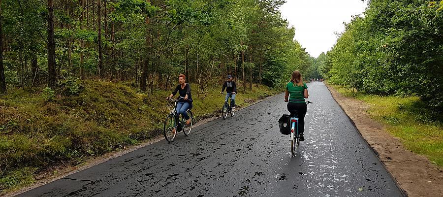 Prawie 30 kilometrów nowych ścieżek rowerowych na Trasie Pojezierzy Zachodnich